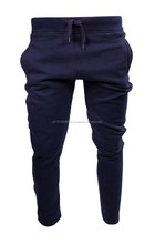 Slim fit gym fitness sweatpants/slim fitted tapered jogger sweatpants with cuffs /wholesale mens sweatpants 2015
