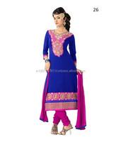Cotton Printed Unstitched Salwar Suit   Ladies Cotton Suits And Salwar Kameez