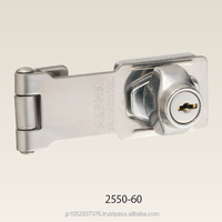 JapaJapanese high quality and security door hasp type key. ALPHA corporation(2550)