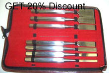 """Get 20 % Discount on all kind of Orthopedic Surgical Instruments Set of 7 Hibbs Chisel 9"""" Pay by Paypal By PAK DENT MAX"""