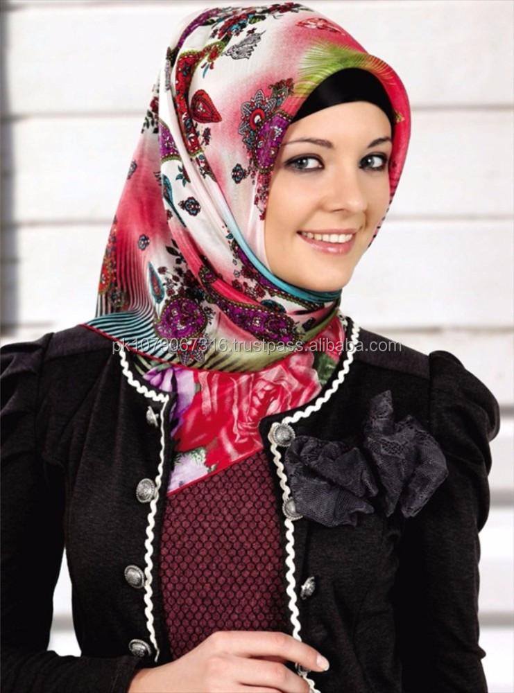 بستن روسری چهار گوش لبنانی مدل روسری های ارمینه 2013
