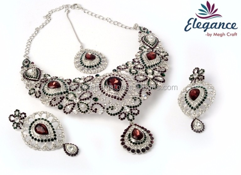 Designer Jewelry Set Party Wear Jewellery Set Imitation Jewelry Wholesale Fashion Jewelry 2015