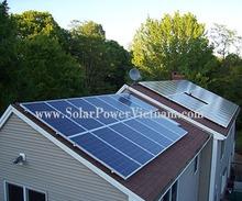 3400 watt solar panel kit for home use