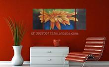Flower Painting - Decoration Set 3in1 - Unknown artist