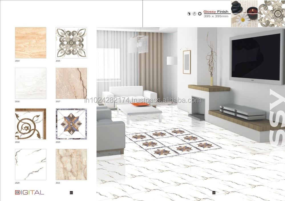 Digital Ceramic Floor Tiles Design 1 2