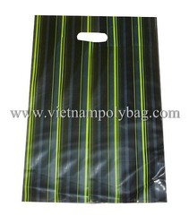 vietnam bio plastic bag, die cut shopping bag