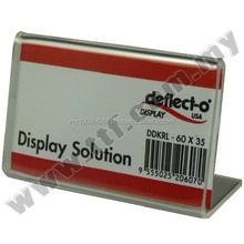 L Shape Tag Holder L60 x H35mm, Brochure Holder, Acrylic Brochure Holder, Cheap Brochure Holder,CardBoard Brochure Holder,Holder