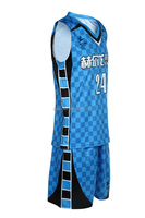 Fashion style sleeveless basketball uniform sale