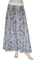 mayorista indio largo abrigo de algodón alrededor de la falda-desgaste del partido falda larga 2015-indio falda impresa étnica