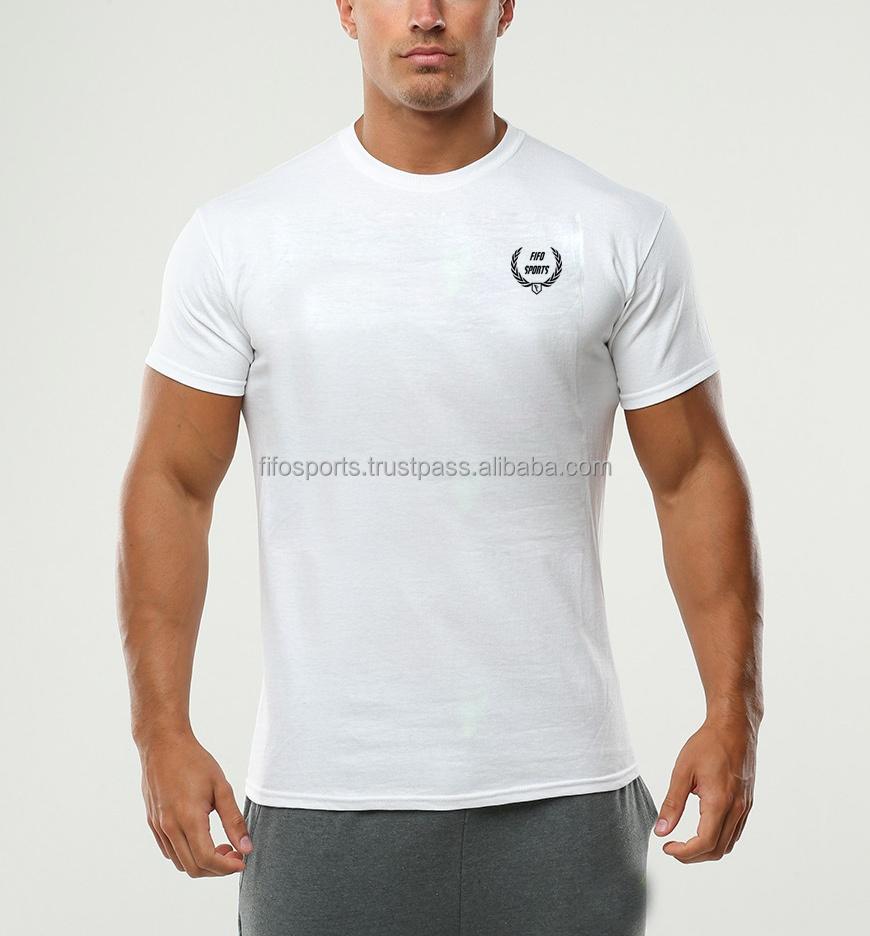 Wholesale gym wear design dry fit running shirts men 39 s t for Make your own gym shirt
