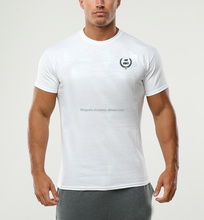 Wholesale gym wear design dry fit running shirts men's t shirts