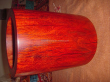 red sandalwood pan container