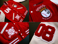 Custom Varsity Jackets With Your Own Logos, Labels & Customized Inside Lining/ Custom Embroidered Varsity Jackets