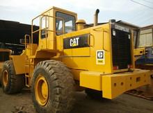 Shanghai China Sell Used Cat 966E Wheel Loader /Caterpillar 950E 966C 966D 950B Wheeled Loader Shovel