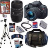 best deal with 1 year warranty for Canon EOS Rebel T5i 18.0 MP CMOS Digital Camera with EF-S 18-55mm