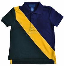 Boys Dual Match Short Sleeve Polo Shirt
