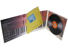 6 panel High Quality CD digipak&CD replication printing