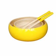 Bamboo Bowls for Salad