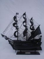 "Black Pearl Pirate Ship 26"" Decorative Model Ships Handicraft ( Historic Ships Model )"
