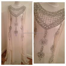 Muslim bridal DORISQUEEN drop New Designer Elegant Islamic Wedding Clothing Bridal Dubai Abaya Butterfly Kaftan With Fashion