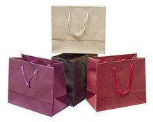 Printed kraft raw materials of foldable shopping paper bag