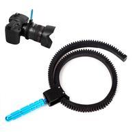 Flexible Rubber Follow Focus Lens Gear Ring Hand Grip for DSLR Camcorder Camera #68865