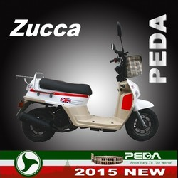(Zucca) 2015 NEW EEC 25km 49cc cheap gas scooter for sale Italian fasion design (PEDA MOTOR)