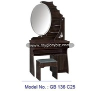 Unique Elegant Designs Dresser Furniture With Mirror And Stool, modern dressing table designs, wall mounted dressing table, wood