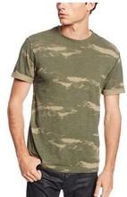 Custom American T Shirt Printing High Quality Round Neck Tee
