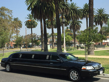 2007 Black 120-inch Lincoln Town Car Limo for Sale #1050