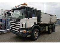 USED TRUCKS - SCANIA 124C 420 6X4 TIPPER (LHD 5012 DIESEL)