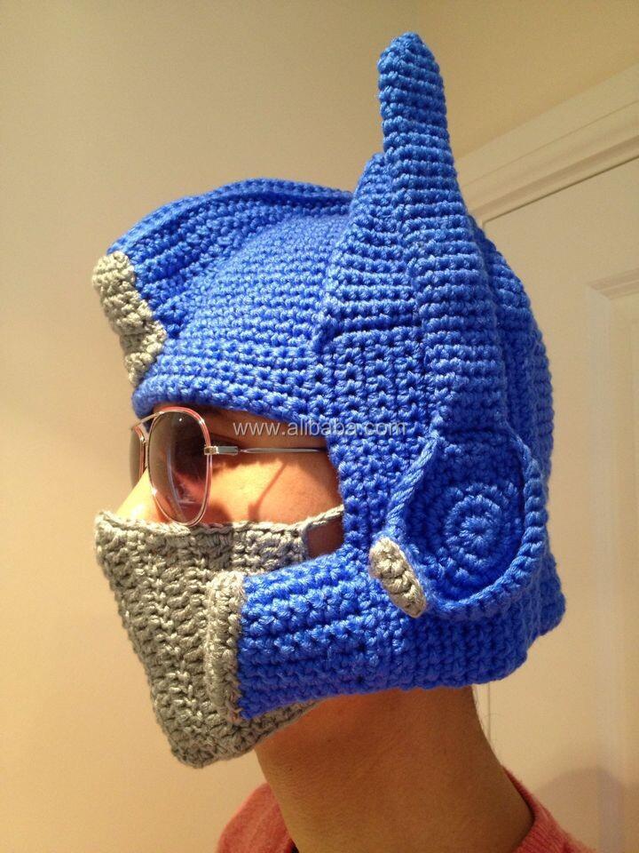 Free Crochet Pattern For Optimus Prime Hat Traitoro For