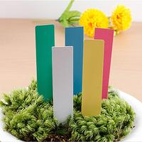 100X Plastic Plant Seed Labels Pot Marker Nursery Garden Stake Tags #69936