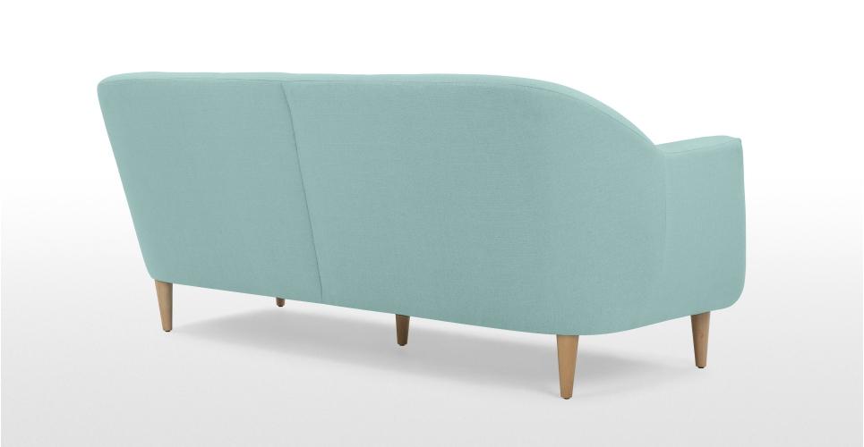 Tubby 3 places canapé, bleu turquoise-Canapés, Modulaires et ...