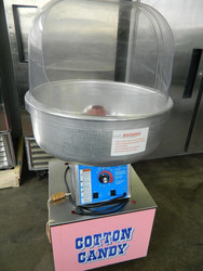 GOLD MEDAL PRODUCTS THE BREEZE MODEL 3030 COTTON CANDY MACHINE W STAND & BUBBLE