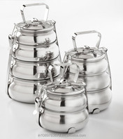 Stainles steel Pyramid Type Lunch container