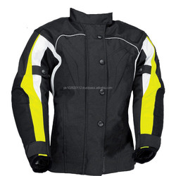 motorcycle cordura jackets with front and back reflection