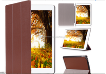 2015 New Arrival Three Fold Flip Leather Cover For iPad Pro Smart Stand Cover