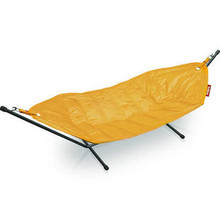 Fatboy Headdemock Deluxe Fabric Hammock with Stand Color: Yellow Ochre