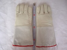 "35cm 13.8"" Long LN2 Liquid Nitrogen Protective Cryogenic Gloves"