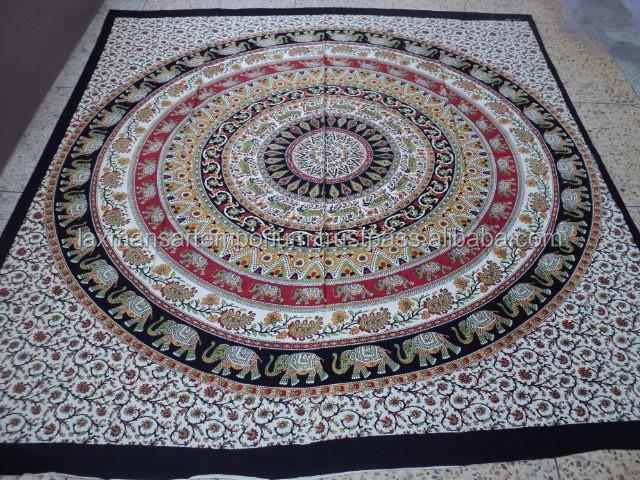 gro handel indian gedruckt bettw sche elefanten mandala bettdecke produkt id 169865500 german. Black Bedroom Furniture Sets. Home Design Ideas