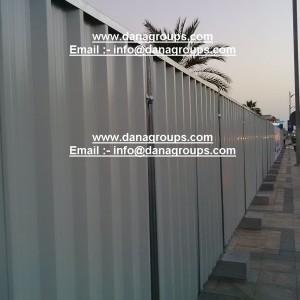 Dana Profiled Sheet Hoarding Fence Panels Barricade