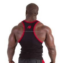 New Classic Tank Top Men'S Muscle Gym Tank Tops For Fitness & Bodybuilding 100% Cotton