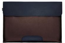 modern & functional laptop genuine leather bag sleeve case
