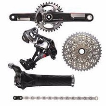 SRAM XX1 groupset with gripshift