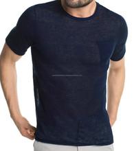 Plai dyed super soft jersey T-shirt