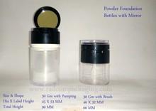 30 ML Foundation Powder Bottle Portable Makeup