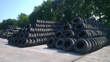 Durable All Steel Dump Truck Tyre Used In Mine Roads