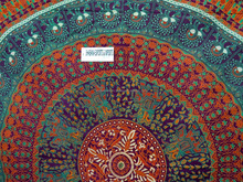 Hand printed Queen size Attractive Tapestry Mandala beach decor Bedroom Tapestries wall decals