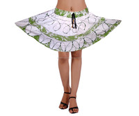 2015 hot oem matching skirt and tops